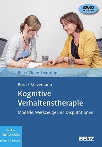 Kognitive Verhaltenstherapie: Modelle, Werkzeuge und Disputationen. Beltz Video-Learning, 2 DVDs, Laufzeit: 258 Min. Mit Online-Material