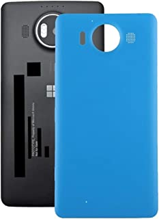 Lingland Battery Back Cover For Microsoft Lumia 640 XL (Black) cell phone rear covers placement parts (Color : Blue)