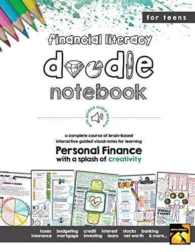 Financial Literacy Doodle Notebook