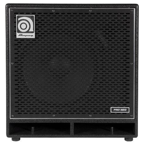 Ampeg Pro Neo PN-115HLF - Altavoz activo de 575W, negro