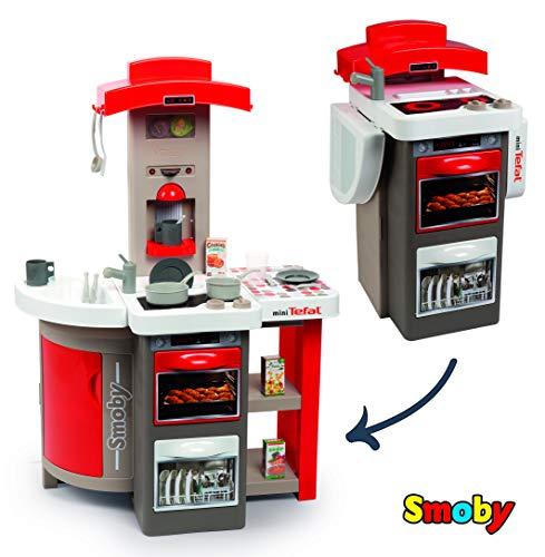 Smoby Spielküche faltbar rot grau (312200)