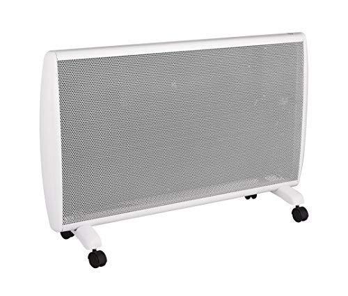 Haverland ANUBIS-20 | Calefactor Convector Eléctrico Portátil | 2000W | Bajo Consumo | Con Ruedas | Termostato Electrónico Intuitivo | 3 Modos | Confort / Eco / Antihielo | Blanco