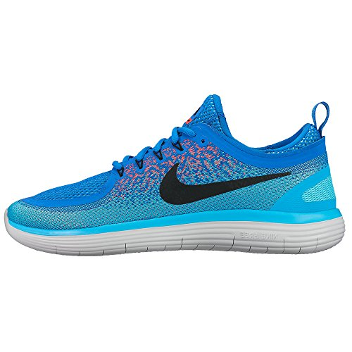 Nike Nike Free RN Distance 2–Soar/Black de Hot Punch de polarizada, color Azul, talla 38.5