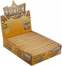 Juicy Jay 'Liquorice' King Size cartine aromatizzate (New sapore da Juicy Jay' s)–24confezioni (32foglie ogni)–Sold by TRENDZ