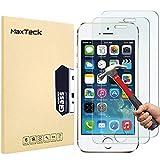 [3 Pièces] Verre Trempé iPhone 5 5s SE, MaxTeck Film Protection en Verre trempé écran Protecteur...
