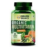 Himalayan Organics Organic Multivitamin with 60+ Certified Organic Extracts 60 Vegetarian Capsules (60)