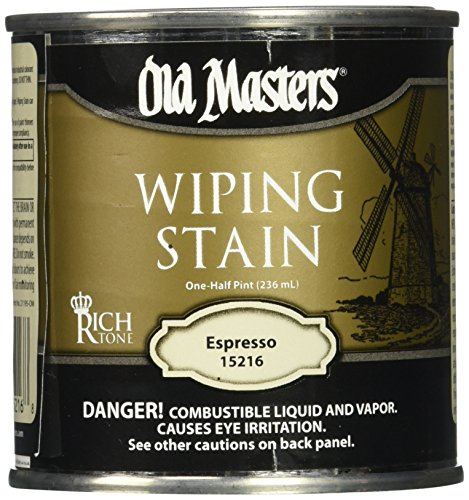 Old Masters Series 15216 .5Pt Espresso Wiping Stain 24