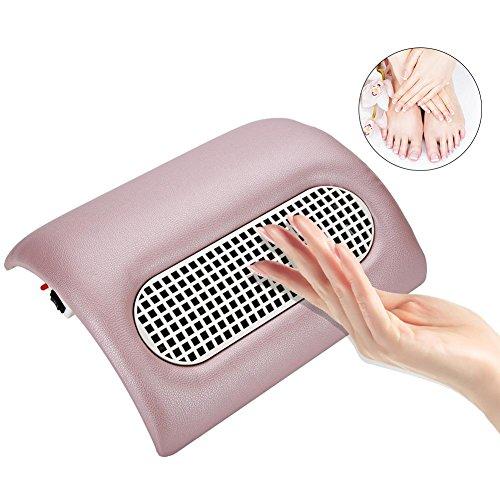 Colector de polvo de uñas de ventilador de uñas de ventiladores de sintética de salon de aspiración de polvo de colector de acrílico de uv gel Máquinas de Manicura portátil