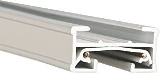 WAC Lighting JT8-WT 120V 8 Foot J Track with Mounting Hardware and Two End Caps, Single Circuit, White
