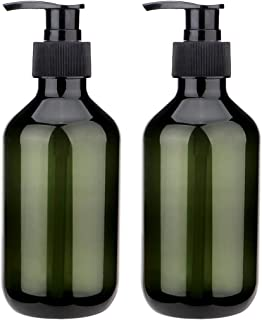 Sdoot Pump Bottles, 10oz Shampoo Pump Bottle, 2 Pack Plastic Pump Dispenser Bottle for Shampoo Lotion Body Wash