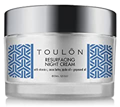 PROTECT & HEAL YOUR SKIN WITH PROVEN ANTI-AGING RESURFACING NIGHT MOISTURIZER: Revitalize Tired, Damaged Skin. Moisturizes & Repairs. Clears Acne, Clogged Pores & Breakouts. Builds Collagen, Diminishes Fine Lines and Wrinkles, Lightens Age Spots, Min...