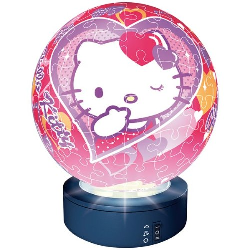 Ravensburger 81024 Hello Kitty Puzzleball Lampada 96 Pezzi