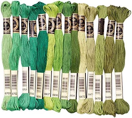 Embroidery Floss Reservation 14 Skeins Per Rainbow Premium Pack Large special price Embroi Color