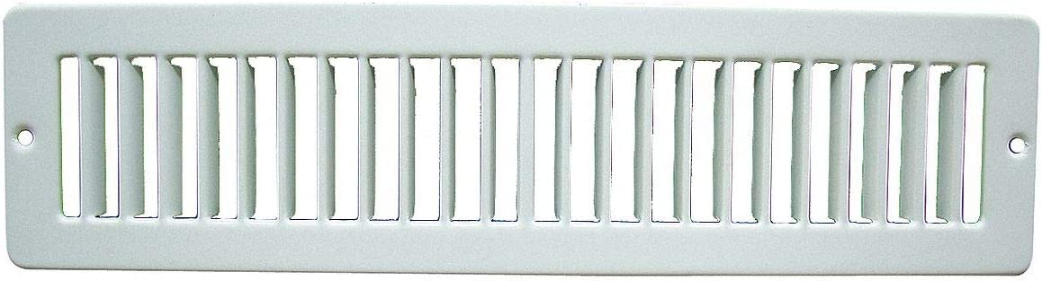 Toe Space Grille 2x12 Oklahoma City Mall White Challenge the lowest price of Japan ☆