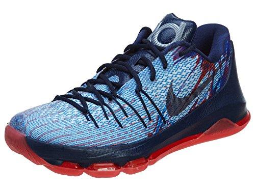 Nike KD 8 Crimson/White/Navy 749375-446 (Size: 10.5)