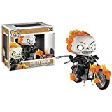 KYYT Funko Ghost Rider #33 Ghost Rider with Motorcycle Pop! Chibi...