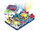 The perseids Juego de Circuito eléctrico, Stem Educational Toys Kit de Descubrimiento electrónico para niños, Divertido y Simple (124 Piezas)