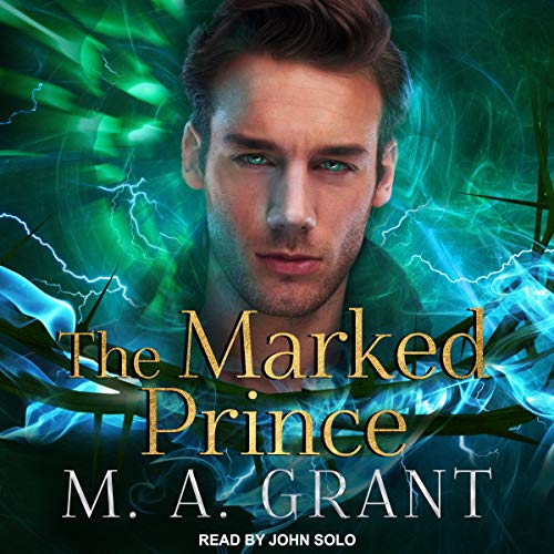 The Marked Prince audiobook cover art