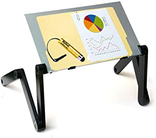 QuickLIFT Podium Portable Lectern Desktop Stand for Office/Conference with Adjustable Height for Reports/Books/PC ! Includ...