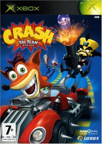 Crash Tag Team Racing [Xbox] [Importado de Francia]