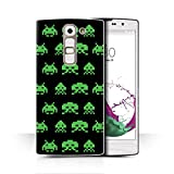 Stuff4 Phone Case for LG G4c/H525N Retro Arcade Games 8 Bit