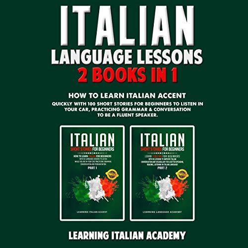 Italian Language Lessons: 2 Books in 1 Titelbild