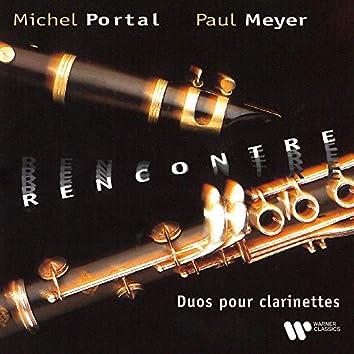 Rencontre. Duos pour clarinettes de Mozart, Haydn, Yost, Rousseau & CPE Bach