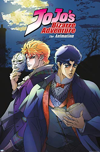 Trends International JoJo's Bizarre Adventure - Season 1 Key Art Wall Poster, 22.375' x 34', Unframed Version