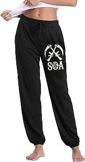 Sons of Anarchy Women's Cycling Pants Winter Running Windproof Fleece Warm Pants Multi Function Sports