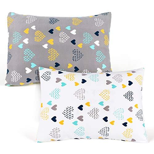 cosmoplus Kids Toddler Pillowcases-2 Pack Pillow Cover for Boys Girls Kids...