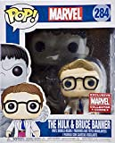 POP! Marvel #284 The Hulk and Bruce Banner Exclusive 6' Collector Corps Vinyl Bobble-Heads Figure