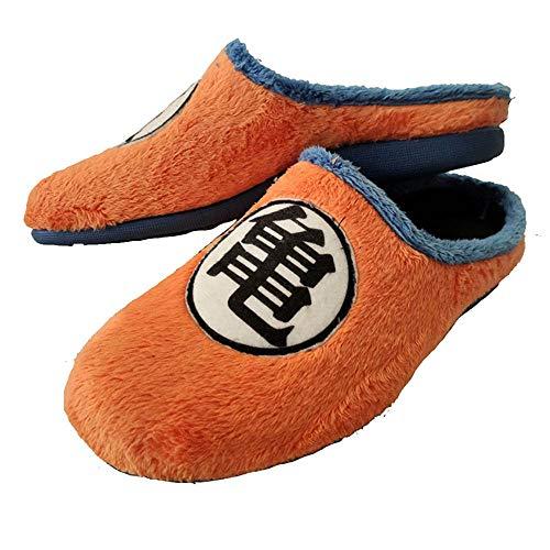 Zapatillas Kanji Kame inspiradas en Dragon Ball cómodas casa Goku (Numeric_43)