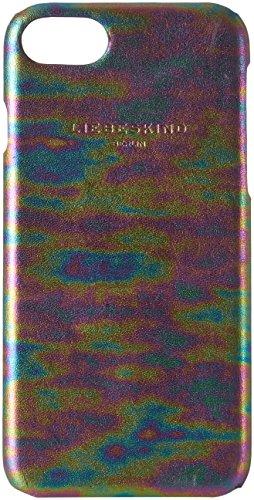 Liebeskind Berlin Dobbyi7w7 Oilsli Damen Handyhülle, 1x7x14 cm (B x H x T), Mehrfarbig (Multicol. Oil Slick)