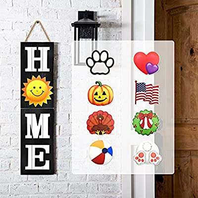 Amazon - 40% Off on Winder Home Welcome Sign for Front Porch Door Wall Hanging Farmhouse