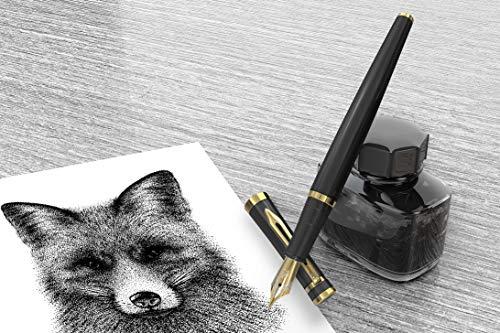 Wordsworth & Black Fountain Pen Set