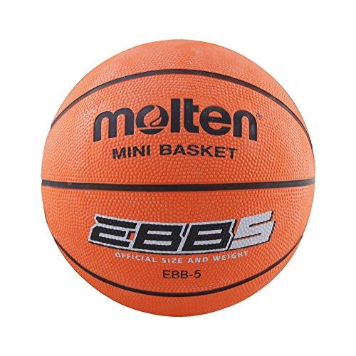 Molten 07291_0101, Pallone da Basket Unisex Bimbi, Arancio, 5