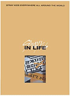STRAY KIDS IN LIFE (Standard Version B Type) IN the 1st Repackage Album CD+Photobook+Photocards+Postcard+(Extra 4 Photocar...