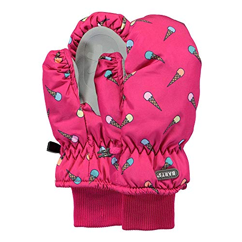 Barts Kinder Mädchen Fäustlinge Nylon Mitts Eis Berry (pink), Größe:5