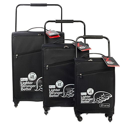 Ultimate Products Ltd Set di valigie, Z Frame, nero - nero, SH2228373PC