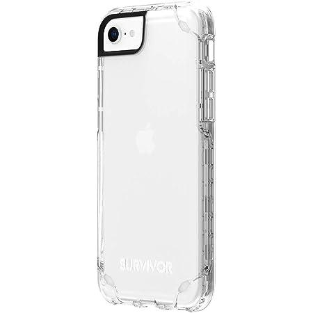 Griffin Survivor Strong Case Hülle Apple Iphone Se 2020 8 7 6s 6 Transparent Militärstandard I Extrem Robust I Ultra Schlank I Qi Kompatible Handyhülle I Stoßdämpfend Gip 043 Clr Elektronik