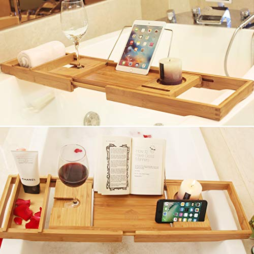Best Bathtub Tray BAMBUROBA