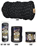 TOUGH-GRID New 700lb Double-Reflective Paracord/Parachute Cord - 2 Vibrant...