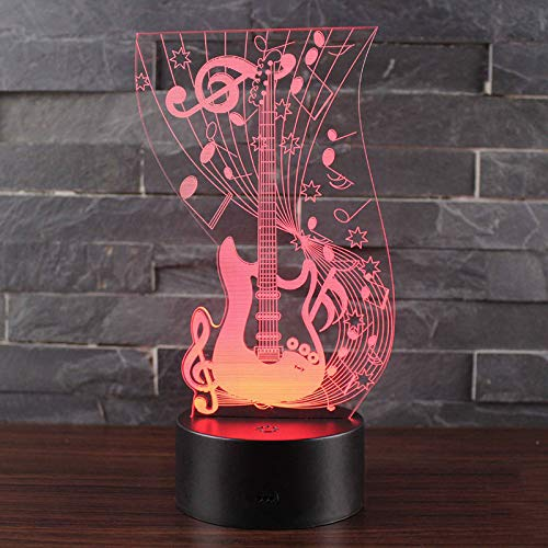 Te Amo cariño, Bombilla LED 3D, decoración romántica, 7 Colores, luz de Noche Brillante, Regalo de Novia, día de la Madre, 11 Controlador