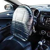 Parasole per volante auto dal diametro di 37-39 cm. Pratica copertura parasole anti riscaldamento.