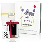 First 5 Years Baby Memory Book + Clean-Touch Ink Pad + Gift Box. Record Your Girl or Boy Photos & Milestones....