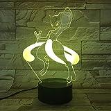 Lampe de Table Pokemon Character Touch à Lampe de Table à lumière Changeante