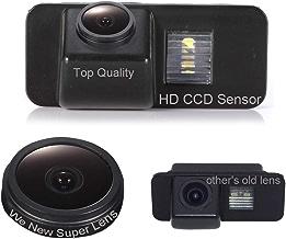 Color Vista Posterior de la cámara cámara de visión Trasera cuadrícula como luz de la matrícula,Ayuda Sensor de Aparcamiento para Ford Mondeo BA7 AB 2007/Focus II Facelift C/Kuga AB 2008/S-Max AB