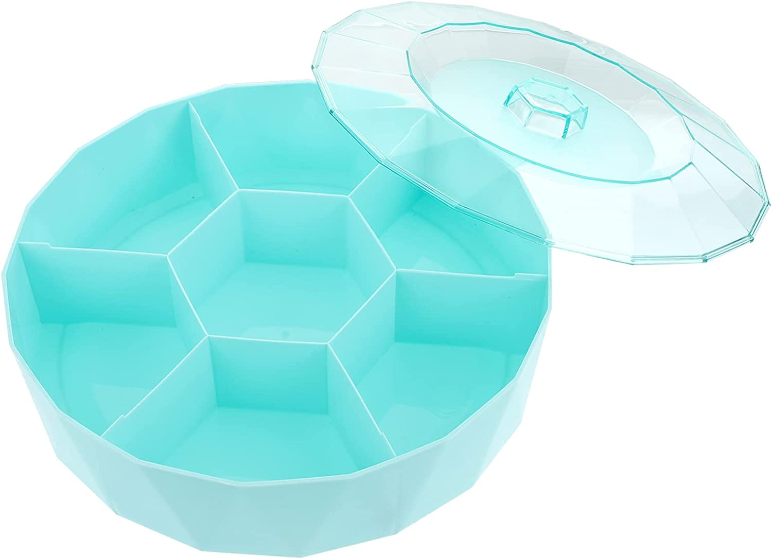 HEMOTON Multifunctional Ranking TOP10 Party Snack Free shipping Tray Round Divided D Serving