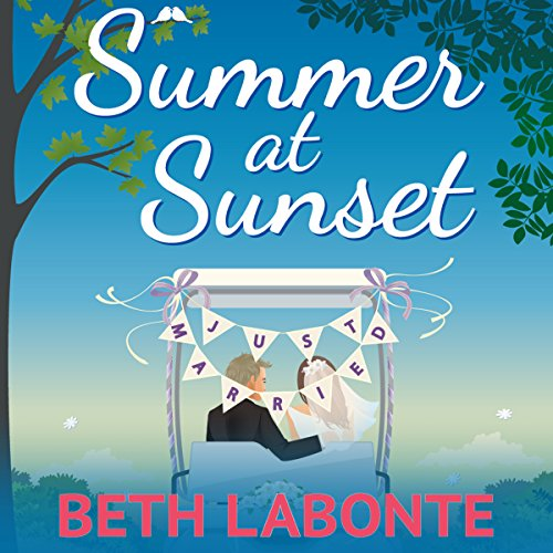 Summer at Sunset audiobook cover art