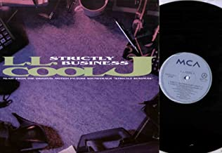 LL COOL J - STRICTLY BUSINESS - 12 inch vinyl record